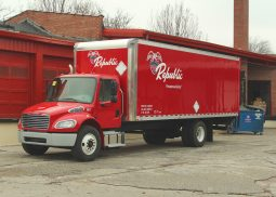 Republic HVAC & Electrical Supply Delivery Truck
