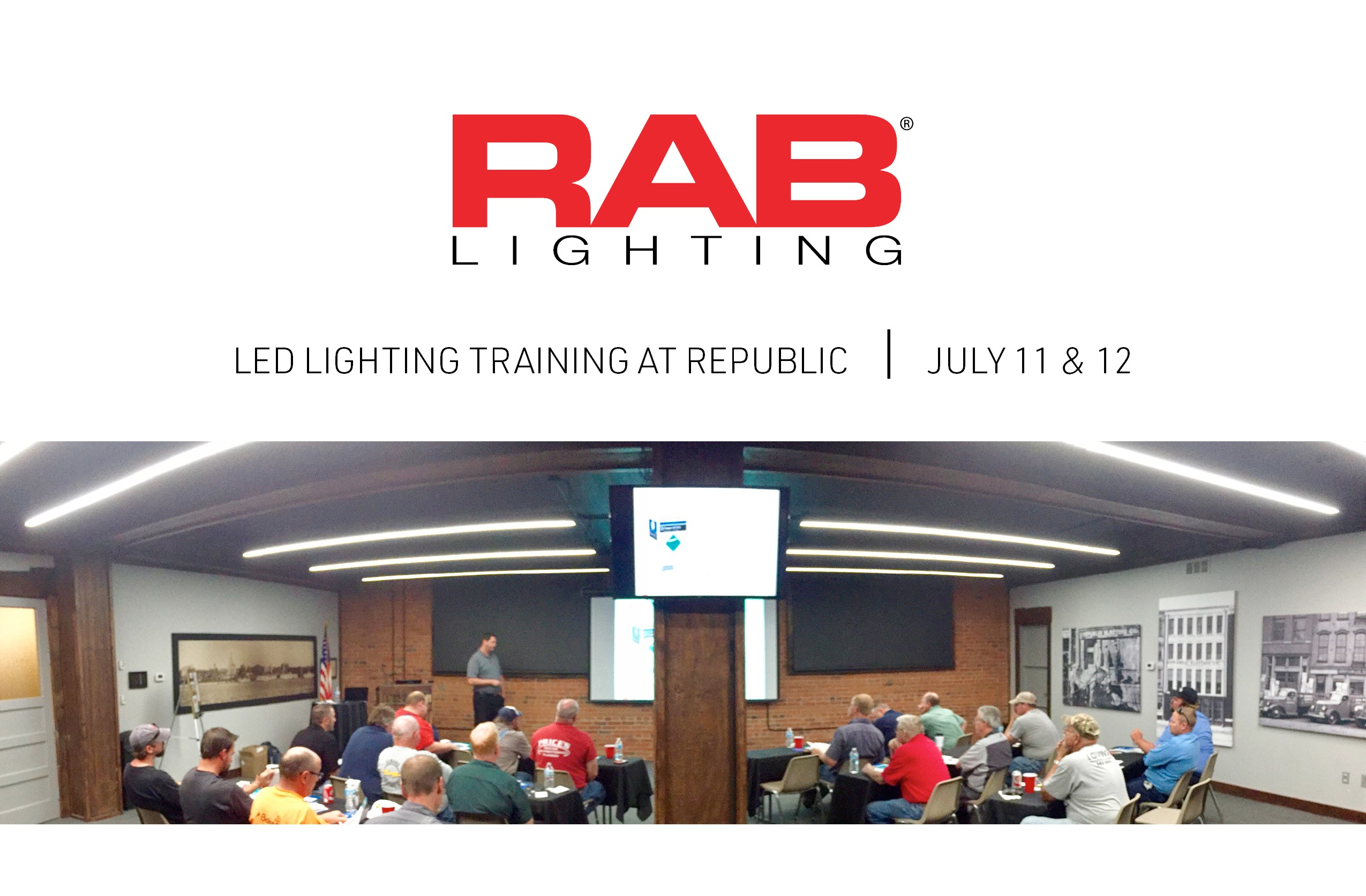 Rab Lighting Led Training Republic