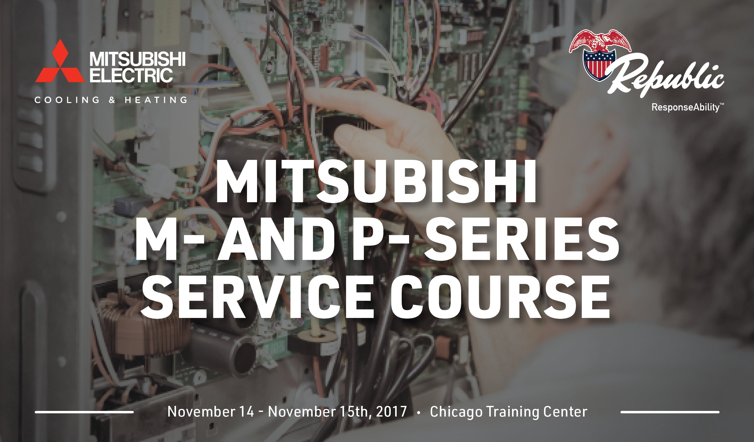 Mitsubishi M- and P- Series Service Course