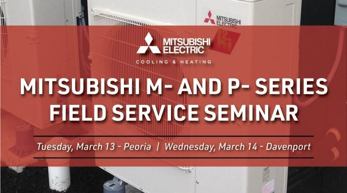 Mitsubishi M&P Series Training Seminar March 2018 Graphic