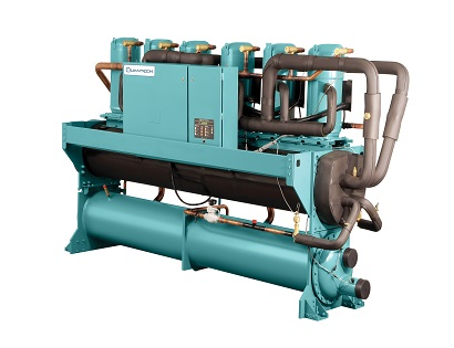 QWC3 Water-Cooled Scroll Chiller 50 to 200 Ton Capacity