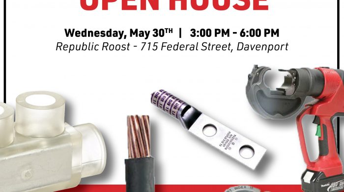 Burndy Open House Graphic